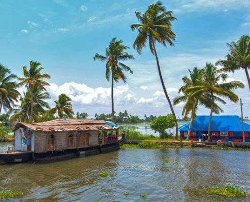kerala honeymoon packages boat house